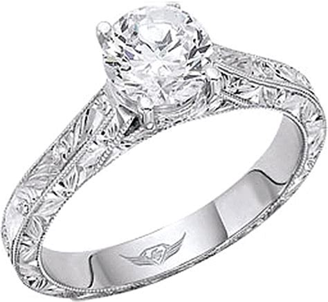 Flyerfit Hand Engraved Solitaire Engagement Ring 5137esolaeng. Tough Wedding Rings. Macrame Rings. Jyotish Rings. Illusion Rings. 2.9 Carat Engagement Rings. Alternative Style Wedding Rings. Script Engagement Rings. Sandblasted Wedding Rings