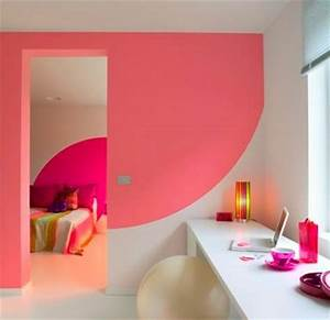 decoration maison peinture mur exemples d39amenagements With peinture mur interieur maison