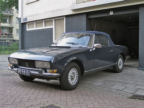 cars classic french peugeot 504 cabriolet convertible