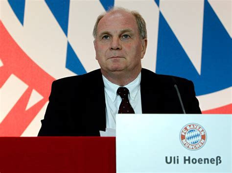 Uli hoeneß is a former german football player. Uli Hoeness says Bayern Munich are the best in the world