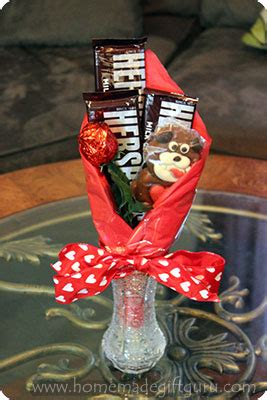valentines day candy bouquet