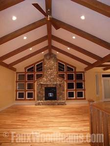 Aspen Beam Picture Gallery Ceiling Design with Foam Wood