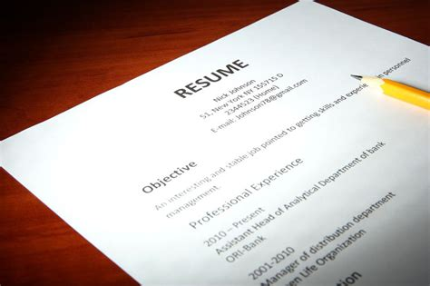 the different parts of a resume explained jobstreet