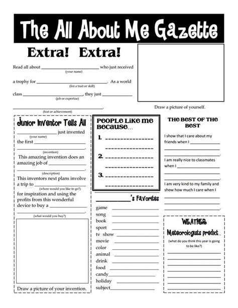 All About Me Worksheets For Teens  All About Me Worksheets For Teens , All… Intervention