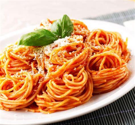 recette spaghetti  la sauce tomate facile