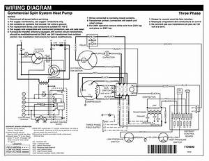 Wiring Diagram Commercial Split System Heat Pump Three