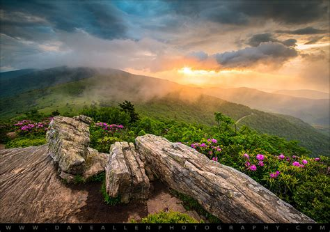 Nashville Tennessee Landschaft by Tennessee Appalachian Mountains Sunset Scenic Landscape Ph
