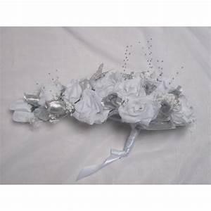 Bouquet De La Mariée : bouquet de mari e cascade blanc argent avec roses et ~ Melissatoandfro.com Idées de Décoration