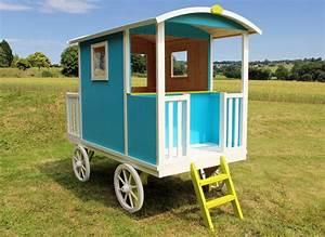 Cabane En Bois Pour Enfant : cabane enfant bois pas cher roulotte carry soulet ~ Dailycaller-alerts.com Idées de Décoration