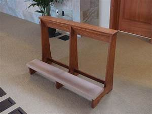 Prayer Kneeler Prie Diew Exotic Solid Mahogany Desk Images