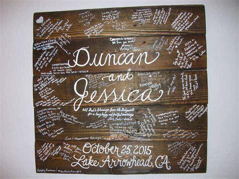 wedding guest board  pallet wood  pallets
