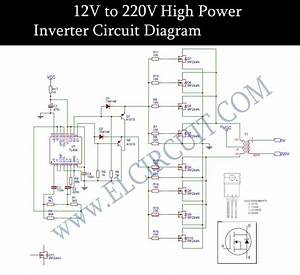 12v To 220v Inverter Dc To Ac Voltage Inverter Tl494 Irfz44n