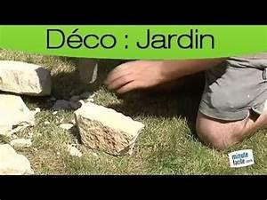 decorer son jardin construire un muret en pierres seches With comment trouver un puit dans son jardin