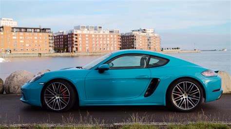 Porsche 718 Modification by Does The Exhaust Note Of The Porsche 718 Cayman S Keep It