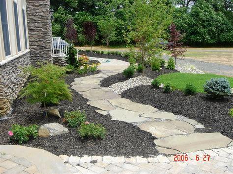 house walkway ideas stone path ideas stone walkway ideas better remade flagstone walkway monday small area garden