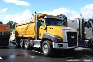 cat dump truck 2016 cat ct660s tri axle dump trucks buses trains by