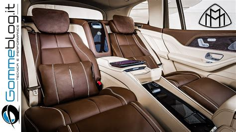As well as other luxurious cars, this premium suv provides an interesting infotainment system. Mercedes Maybach GLS 600 4Matic - TOP LUXURY INTERIOR - YouTube