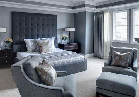 decoration chambre adulte gris visuel