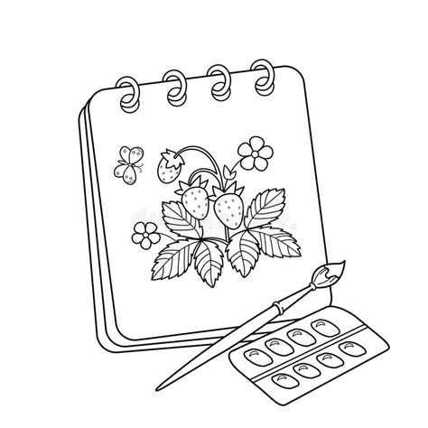 Coloring Book Album by Coloring Page Outline Of Album Or Sketchbook With
