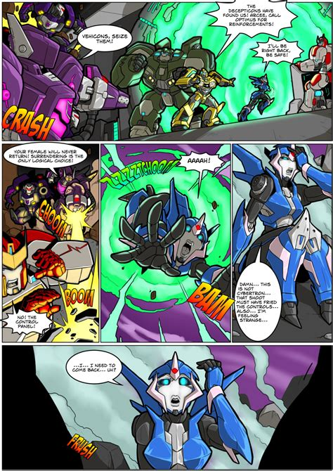 Arcee Comic P1 By Mad Project Hentai Foundry