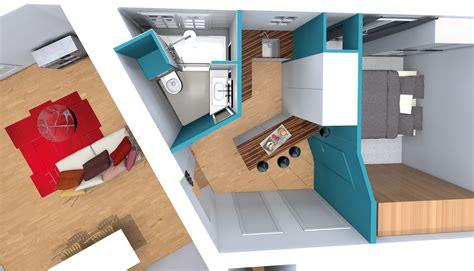 salle de bain studio amenager salle de bain studio