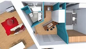Amenagement Salle De Bain : amenagement salle de bain combles affordable du grand ~ Dailycaller-alerts.com Idées de Décoration