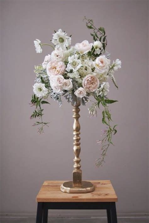 17 best images about tall gold wedding centerpieces