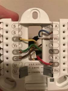 Trying To Replace A Old Honeywell Thermostat With A New T3