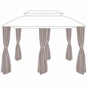tonnelle parapluie gifi elegant voile duombrage square With tente pour jardin pas cher 10 pied de parasol dalle contrepoids leroy merlin
