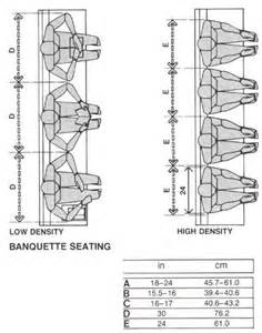 banquette seating human factors drawings customary and suggested layout dimensions interior