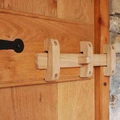 solid oak  bolt   rons board doors wooden