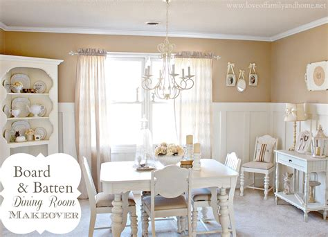 board batten dining room makeover love  family home