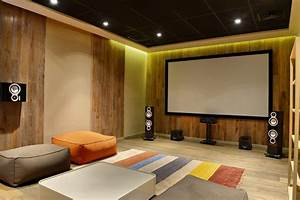 Lighting Ideas For Loft Ceilings Top 70 Best Home Theater Seating Ideas Movie Room Designs