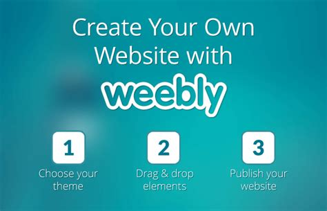 design your own website how to create your own website in 3 steps with weebly