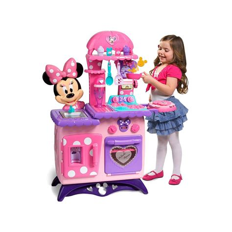 minnie mouse bow tique flippin fun kitchen  play