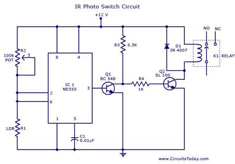 Photo Switch Circuit