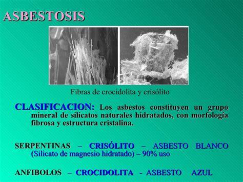 asbestosis  pulmon del carbon