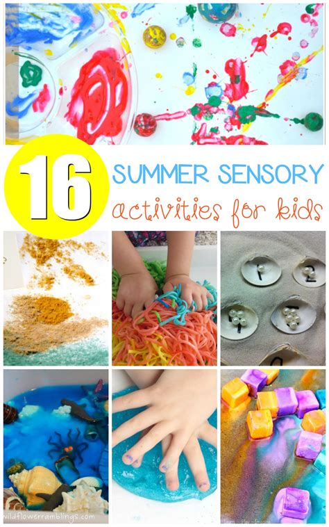 Musttry Summer Sensory Activities Kids Will Love