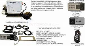 Hydroquip Electronic Spa Packs