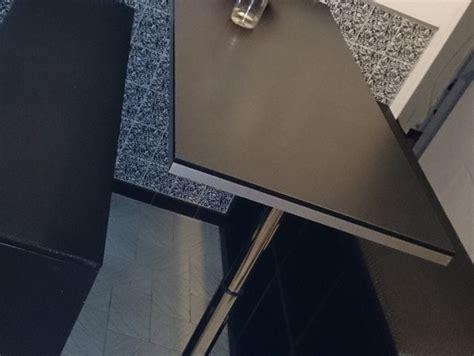 agrafeuse bureau création de table haute et bancs bidouilles ikea