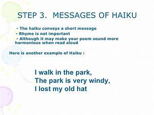 Haiku Poems Powerpoint - popflyboys