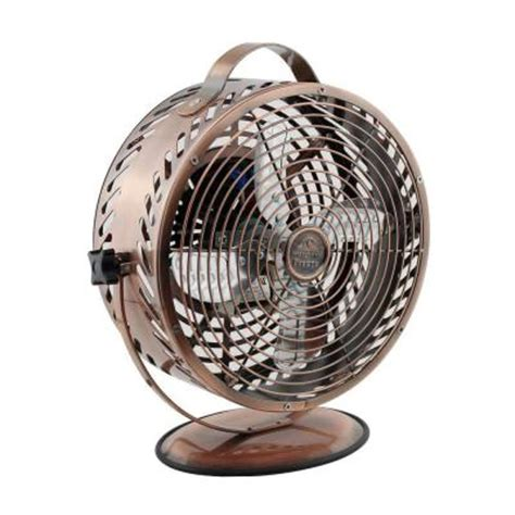 table fans at home depot wbm himalayan breeze 8 6 in decorative bronze table top