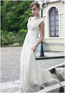 ivory cowl neck wedding dress by elliotclairedresses on With cowl neck wedding dress