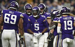 quarterback    minnesota vikings   case