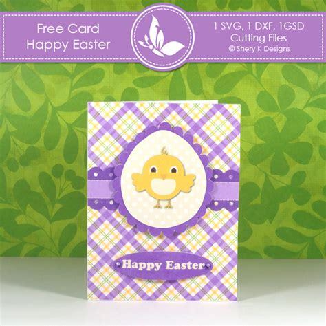 Free Card Making Kit  Happy Easter  Shery K Designs