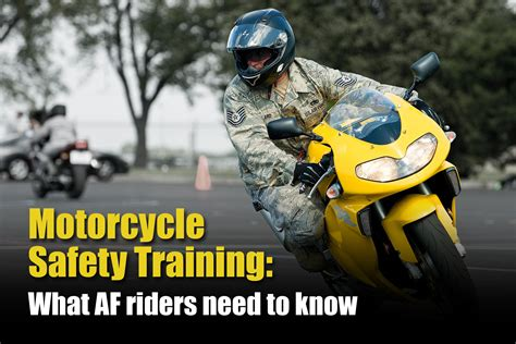 What Air Force Riders Need To