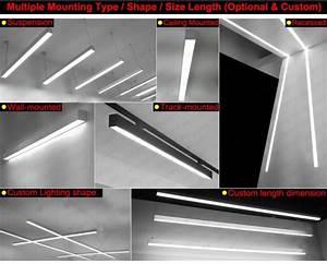 Hanging Office Pendant Batten Office Led Linear Light