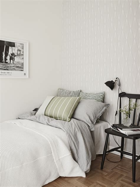 Decorative Pillows For Bedroom by Creative Scandinavian Home Interior Combined With Plants Decor