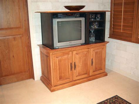 tv cabinet hidden tv lift handmade cabinet with hidden bar and tv lift by jeffrey