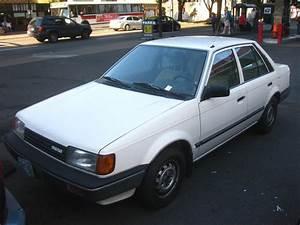 Old Parked Cars   1986 Mazda 323 Dx 1 6i Sedan